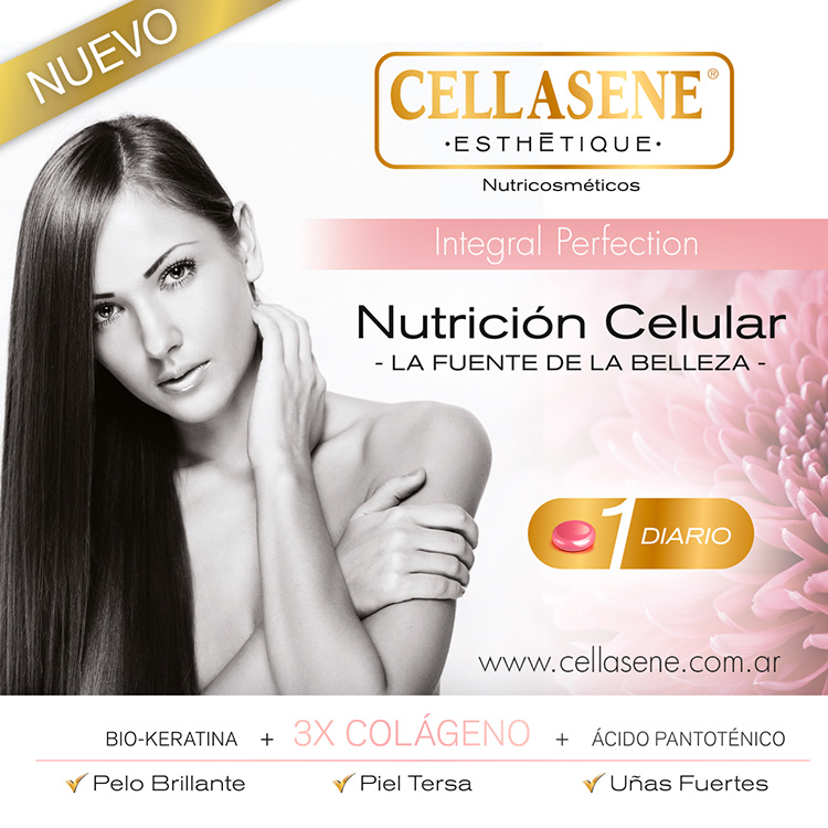 Cellasene nutricosmeticos